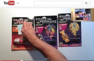Transformers News: Transformers Generation 1 case unboxing from Epic Toy Collection