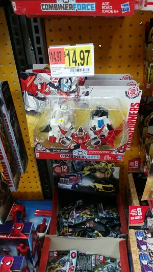 Transformers News: Transformers: Robots in Disguise Crash Combiner Skyhammer Sighted at US Retail