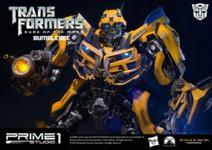 Transformers News: Prime 1 Studio MMTFM-04 Transformers Dark of the Moon Bumblebee