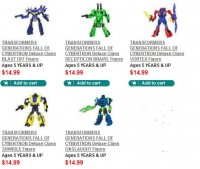 Transformers News: Transformers Generations: Fall of Cybertron Combaticons Available on HTS.com