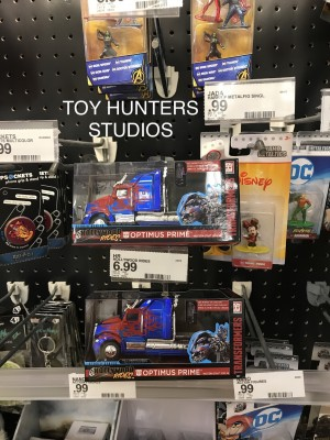 Transformers News: Jada Transformers Studio Series Hollywood Rides Diecast cars found in the U.S.A