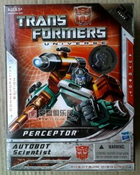 Transformers News: Toys'R'Us Reissue Perceptor In Package Image