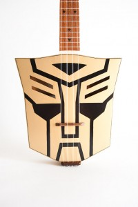Transformers News: Custom Made Transformers Ukulele