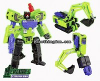 Transformers News: New images of TFClub Toys Exgraver