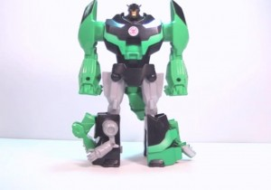 Transformers News: Video Review - Transformers Robots in Disguise Hyperchange Grimlock