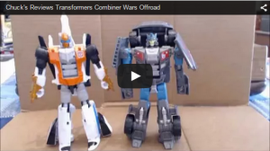 Transformers News: Chuck's Reviews: Transformers Combiner Wars Deluxe Class Stunticon Offroad
