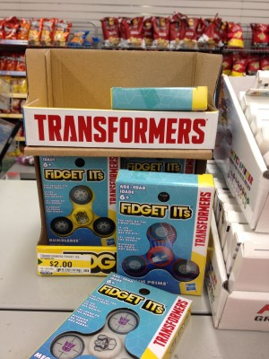 New Canadian Transformers Sightings Including Holiday Restock at Winners and Fidget Its at Dollarama