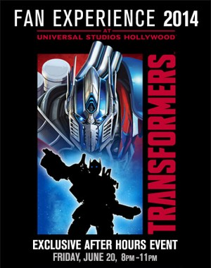 """Two Fan Events Celebrate Power of """"Transformers"""" as Age Of Extinction Heads To Theaters in June"""