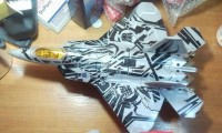 Transformers News: Toy Images of ROTF Leader Class Starscream (Alternate Mode)