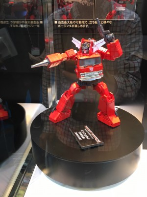 Masterpiece Inferno Colored Prototype Revealed at Tokyo Toy Show