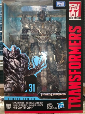 Transformers News: Studio Series SS 31 Battle Damaged Megatron Revealed + More Pics of Scrapmetal and Rampage