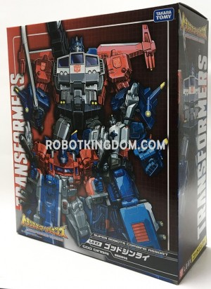 In-Package Image of Takara Tomy Transformers Legends LG-EX God Ginrai