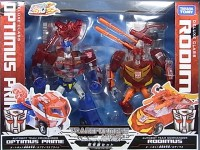 Seibertron Exclusive Video Review of Animated Sons Of Cybertron Optimus and Rodimus