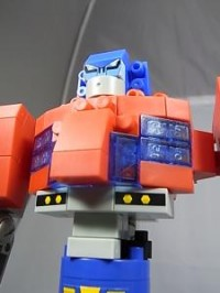 Toy Images of Diablock Animated Optimus Prime
