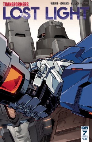 Variant Covers for IDW Transformers: Lost Light #7 by Alex Milne, James Raiz, Jack Lawrence