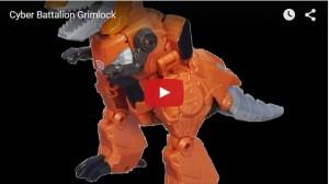 Cyber Series Grimlock Video Review