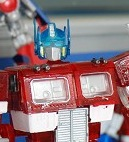 Transformers News: KO Miniature MP Optimus Prime - Crystal Clear Version