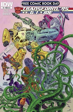 Transformers News: IDW Transformers vs G.I. Joe #1 Preview
