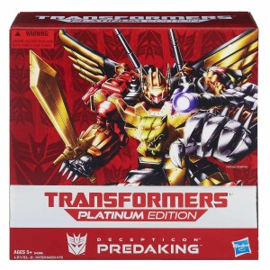 Transformers News: Transformers Platinum Edition Predaking Set Amazon Lightning Deal Today