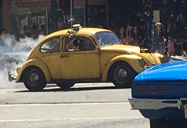 First Images of Volkswagon Beetle and More Set Images of Upcoming 2018 Live Action Bumblebee Movie