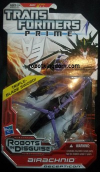 Transformers Prime Deluxe Wave 4 In-Package Images