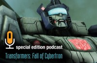 Transformers News: Transformers: Fall of Cybertron Gameinformer Special Edition Podcast