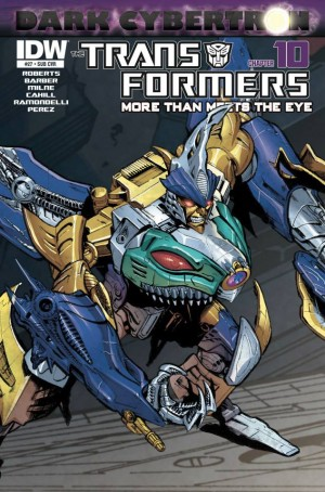 Transformers News: March 2014 IDW Subscription Variant Covers - Possible First Look at Upcoming Sky-Byte Figure Design?