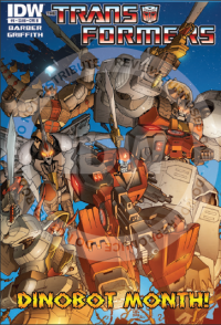 Transformers News: Seibertron.com Reviews IDW Transformers: Robots In Disguise Issue #8