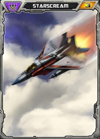 Transformers News: Transformers: Legends Mobile Device Game Starscream Art