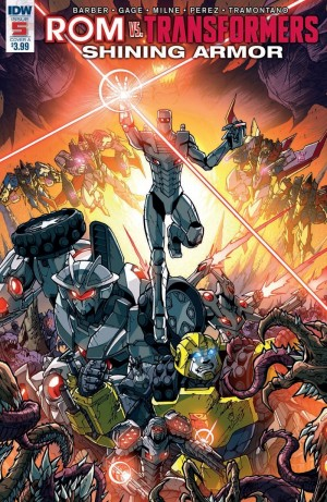 Full Preview for IDW Rom Vs. Transformers: Shining Armor #5