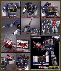 Transformers News: Takara Tomy Website Updates: MP-13 Soundwave, MP-14 Red Alert, Dark Guard Optimus Prime, Capbots