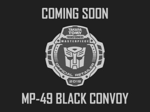 Transformers News: Transformers: Masterpiece MP-49 Black Convoy Listed