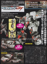 Transformers News: A Closer Look at Takara Tomy Super GT-03 Megatron