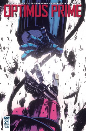 Transformers News: Variant Cover art for IDW Transformers Optimus Prime #21 by Kei Zama & Josh Burcham