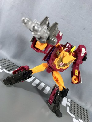 New In hand and comparison images for Takara Tomy Transformers Legends LG44 Sharkticon, LG45 Hot Rod, and LG46 Kup