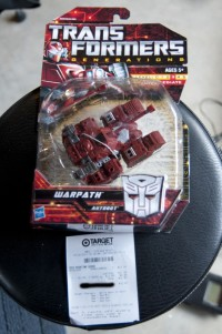 Transformers News: Kapow! Generations Warpath Found at Retail!