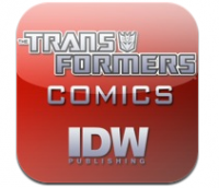 Transformers News: IDW Updates Available Transformers Comics for iTouch and iPhone App