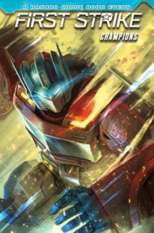 IDW Hasbro Universe First Strike: Champions on Amazon