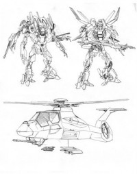 Transformers News: Transformers ROTF Video Game Combaticon Concept Art And Designs
