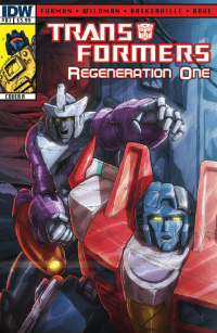 Transformers News: Transformers: Regeneration One #87 Preview