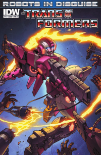 Transformers News: Seibertron.com Reviews IDW Transformers: Robots in Disguise #11