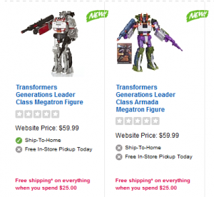 Transformers Combiner Wars Leader Megatron's at ToysRus.ca