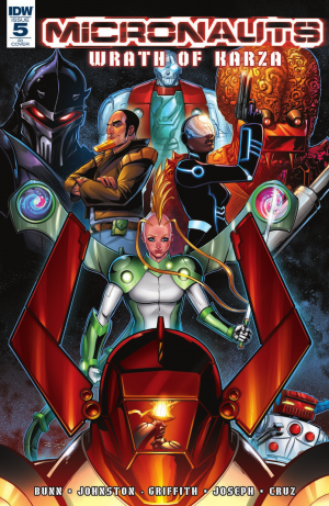 Transformers News: IDW Hasbro Comics - Review of Micronauts: Wrath of Karza #5 (Final Issue)
