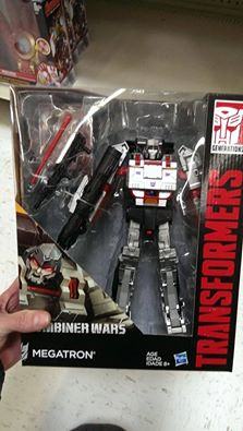 Transformers Generations Combiner Wars Leader Class Megatron Showing Up at Walmart