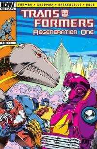 Transformers News: Retrospective Reviews -  Transformers: Regeneration One #87