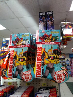 Transformers Robots in Disguise Befana / Epiphany Stockings at Italian Retail