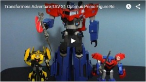 Transformers News: Takara Tomy TAV-21 Optimus Prime Video Review