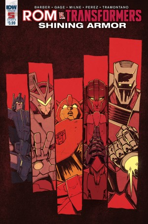 Transformers News: Variant Covers for IDW Rom Vs. Transformers: Shining Armor #5, by Roche / Burcham & Messina