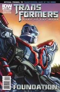 Transformers: Foundation Five-Page Preview