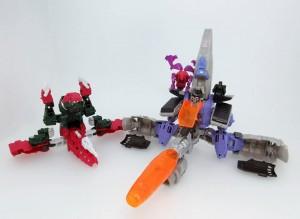 Takara Tomy Transformers Legends Skullcruncher and Galvatron Picture